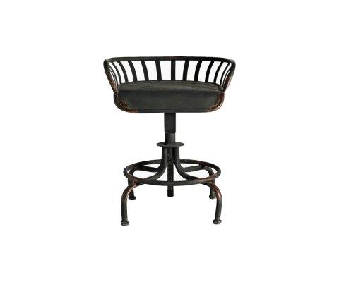 Chaise ajustable métal brut TRACTOR - Nordal