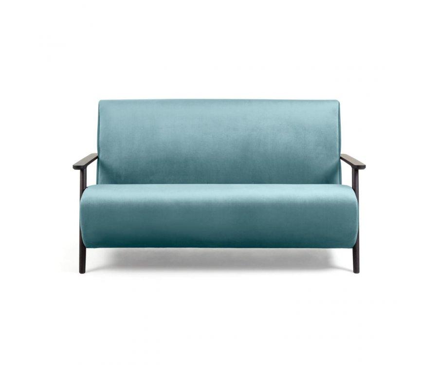 Petit canapé 2 places velours MARTINI