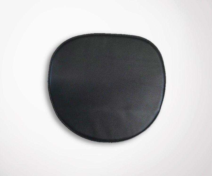 Galette chaise Eames - cuir