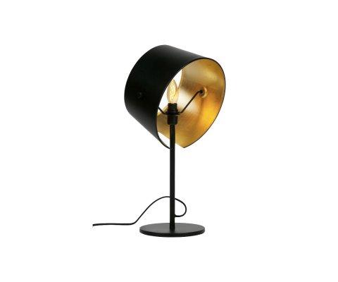 Lampe à poser métal noir style antique HOTAL