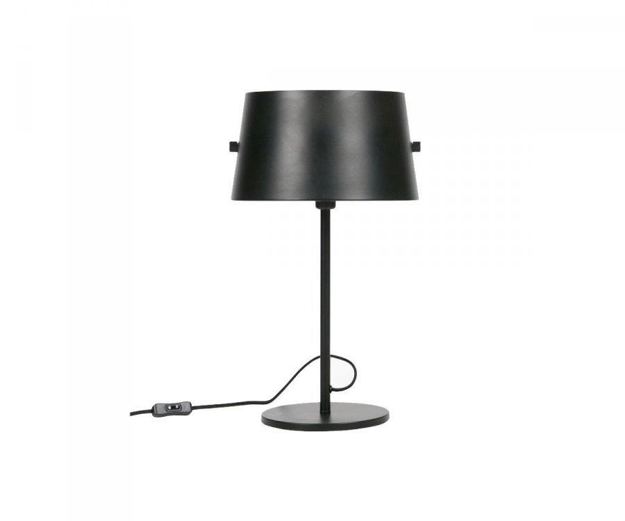 Lampe de table métal noir style antique HOTAL