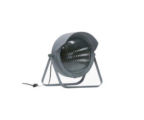 Lampe à poser design industriel gris béton LESTER