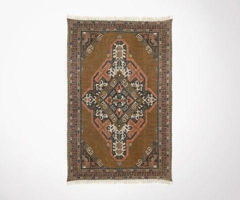 Tapis rétro RALMA coton délavé 180x280cm - HK Living