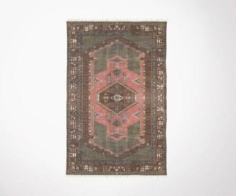 Tapis vintage TULZIN coton délavé 120x180cm - HK Living