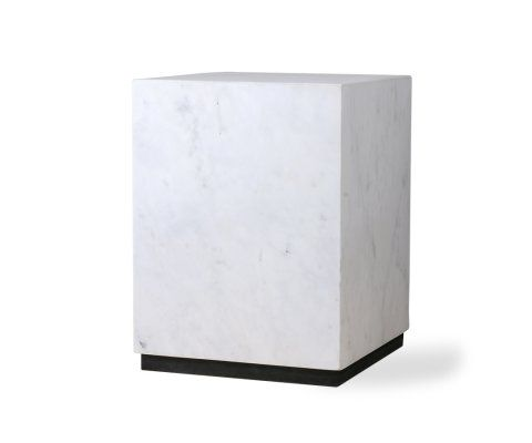 Table basse marbre 28cm forme cubique STRUK - HK Living