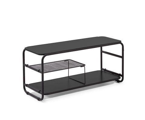 Petit meuble TV métallique 100cm RISKEO