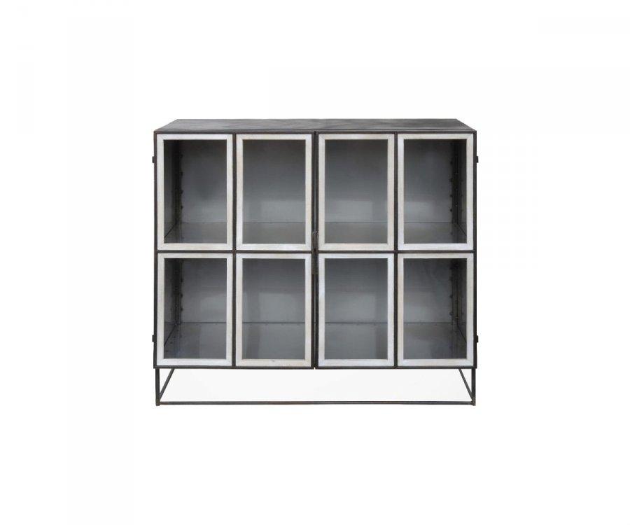 Buffet design vitré métal DOULIO - Bloomingville