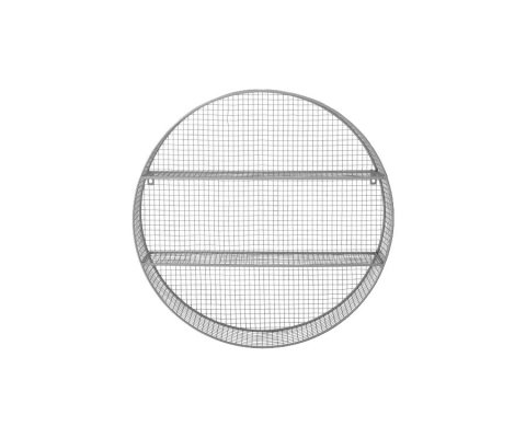 Etagère design ronde en métal ZAZOU - Bloomingville