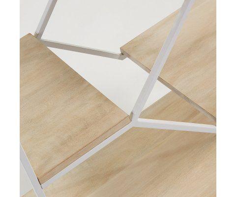 Étagère design métal bois KYPE - 80x93cm