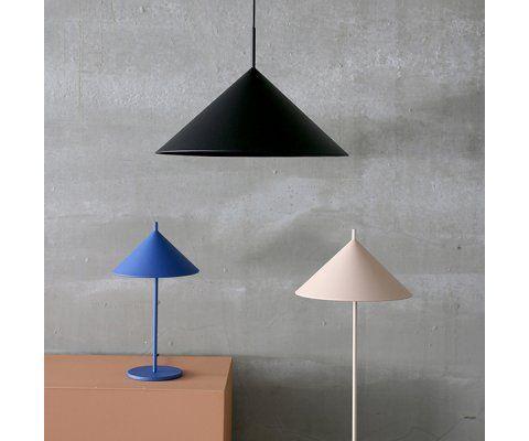 Lampadaire design métal TRONDE - HK Living