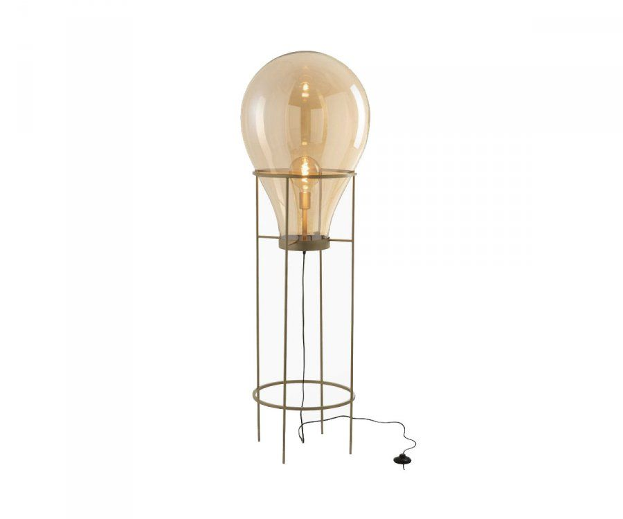 Lampadaire moderne verre et métal BALLOONS