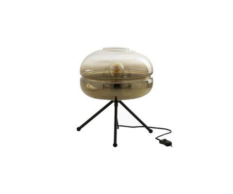 Lampe moderne verre et métal LOBA