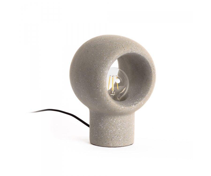 Petite lampe à poser en ciment ROE