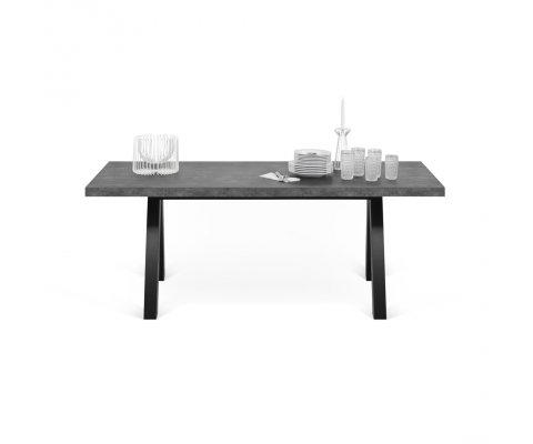 Table à manger 200cm en béton APILA - Temahome