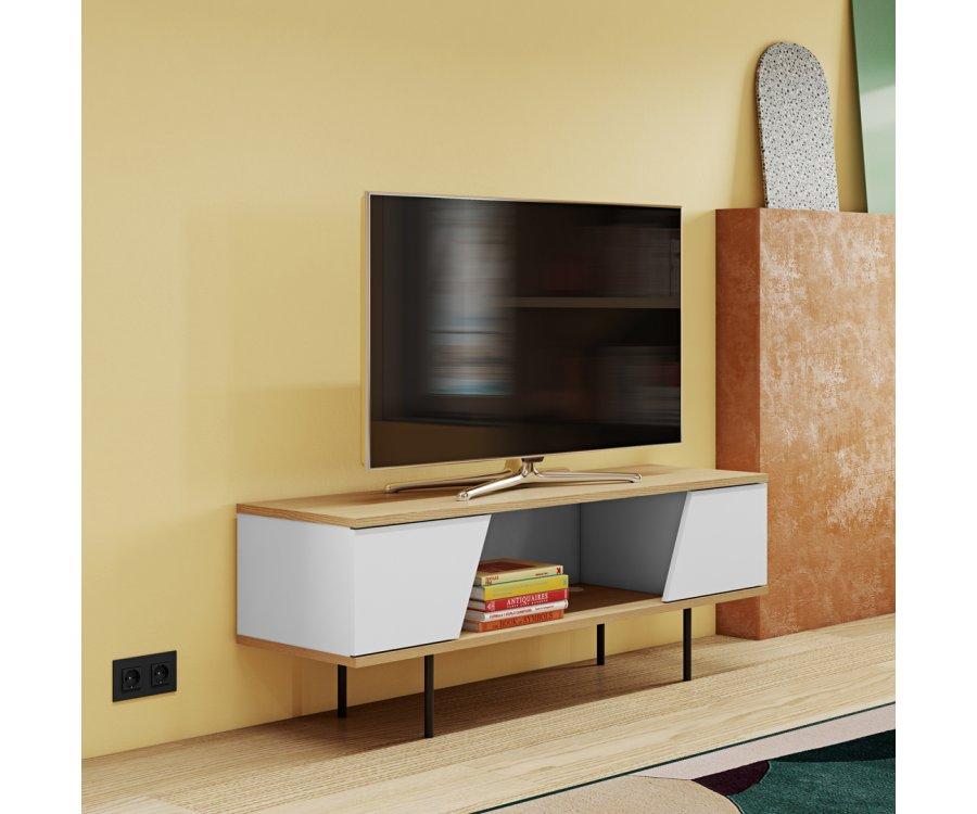 Meuble TV style scandinave BIZO - Temahome