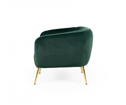 Fauteuil lounge 1 personne scandinave-MILLY