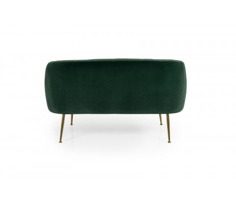Fauteuil lounge 2 personnes scandinave-MILLY