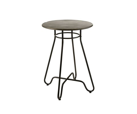 Table haute design en métal DELICE - J-line