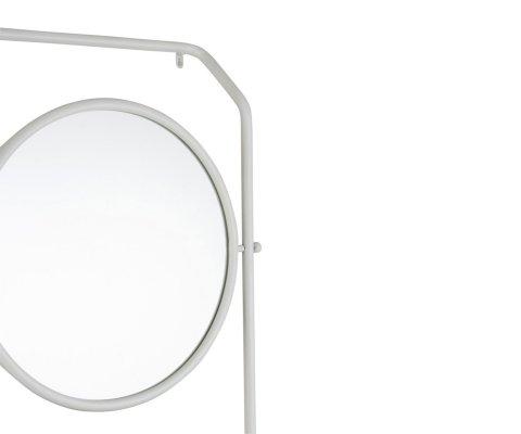 Petite étagère 3 étages avec miroir SAMIA