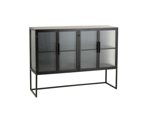 Buffet moderne en métal et verre GIO - J-line