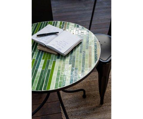 Petite table intérieur extérieur mosaïque RALBOLI - J-line