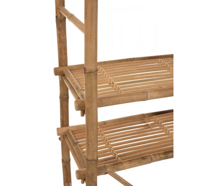 Etagère 5 étages en bambou BEN - J-line