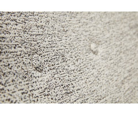 Fauteuil et repose pieds en tissu NATI - Hubsch