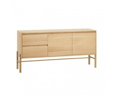 Buffet bois avec portes et tiroirs CROSBU - Hubsch