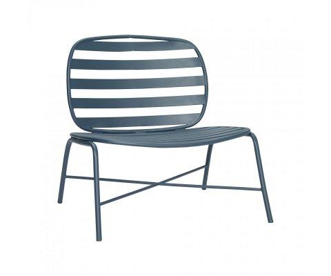 Chaise lounge extérieur en métal STRILLE - Hubsch