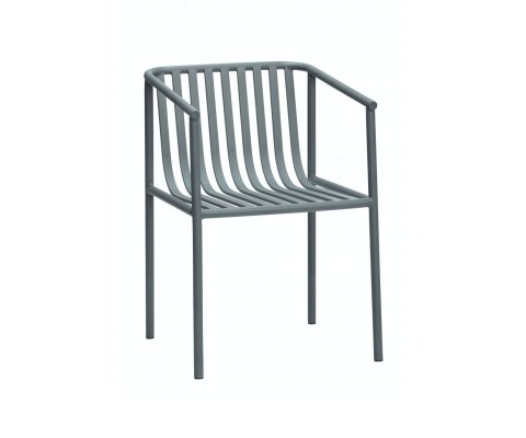 Chaise design en métal PAPOU - Hubsch