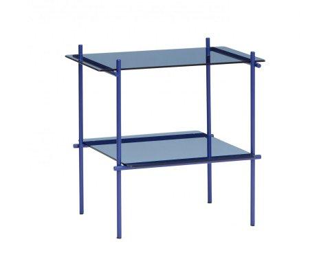 Table d'appoint métal et verre-MAZETTE
