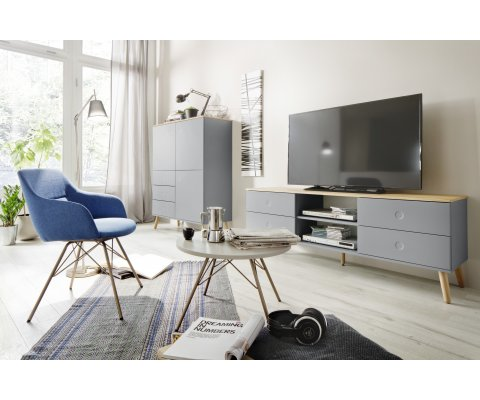 Meuble tv scandinave-REZIO-M
