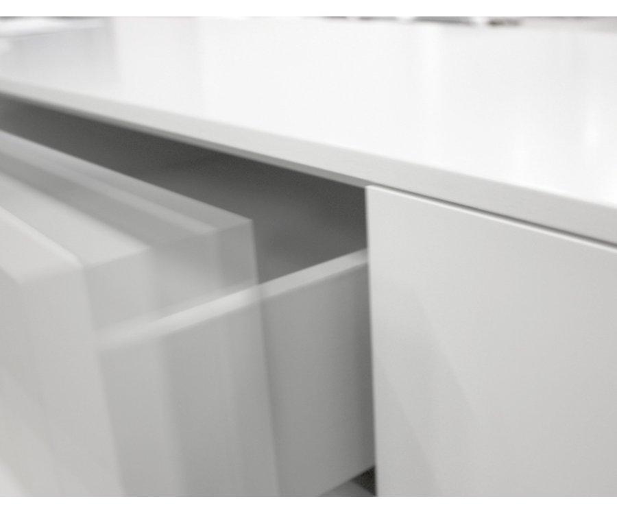 Buffet bas 3 portes scandinave-PAPILO