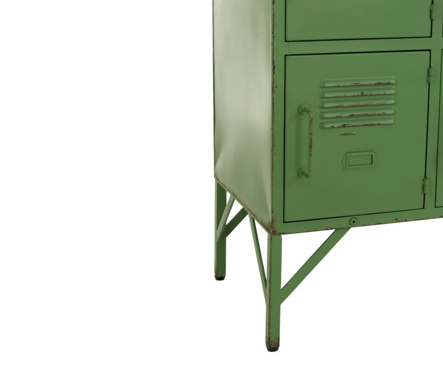 Armoire avec casiers style industriel PINKI - J-line
