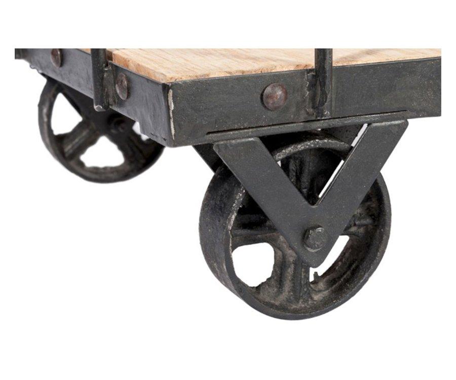 Etagère industrielle à roulettes MIREILLE - J-line