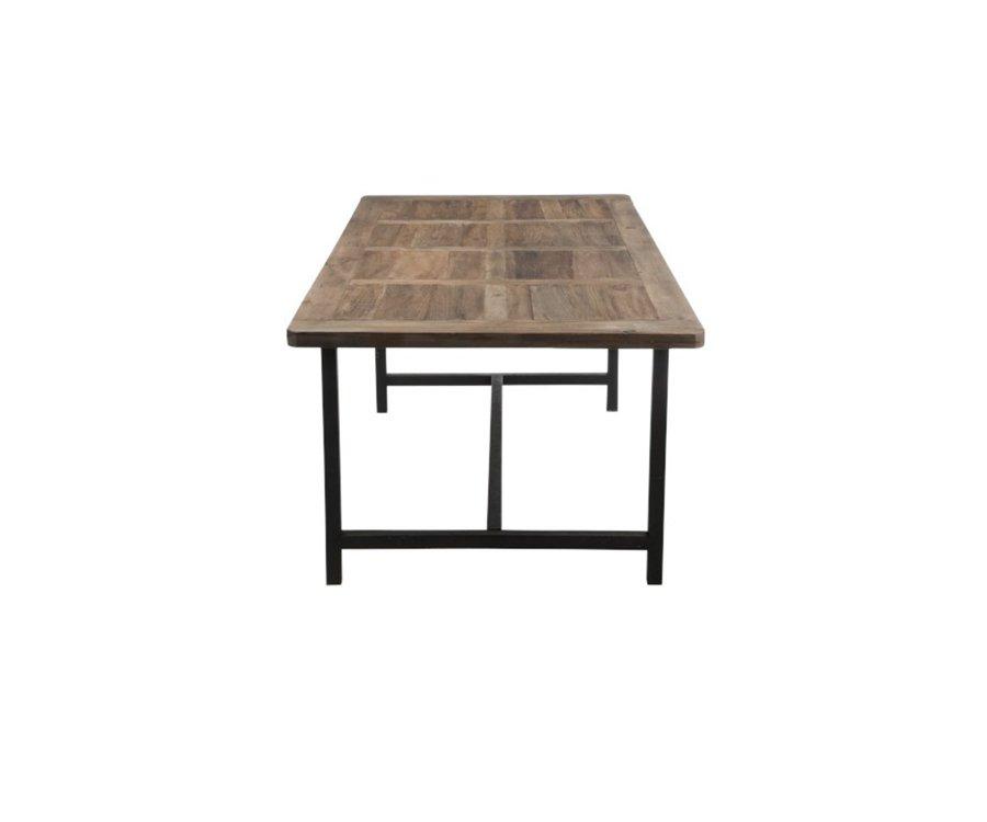 Table à manger bois et métal ROXANNE - J-line