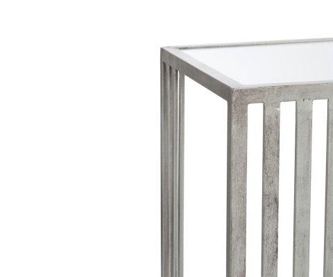 Console contemporaine en métal et verre VALI - J-line