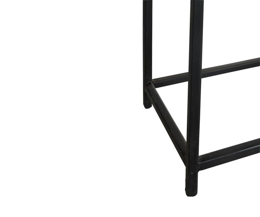 Console d'entrée 8 tiroirs bois recyclé BAZA - J-line