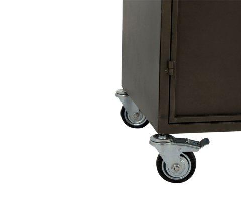 Armoire avec 9 casiers en métal DELICE - J-line