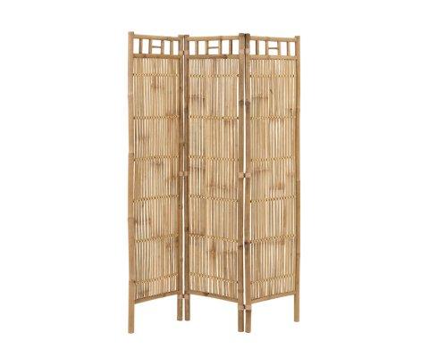 Paravent bohème en bambou ROSA - J-line