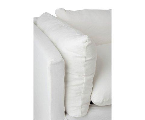 Canapé en tissu avec coussins SARAH - J-line
