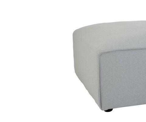 Pouf carré en tissu ZABI - J-line