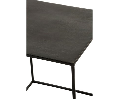 Set de 2 tables gigognes en métal OLIPA - J-line