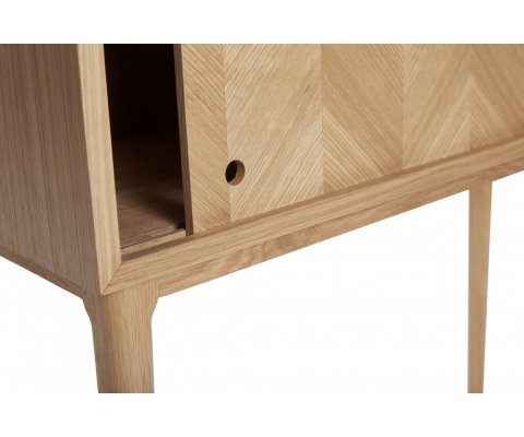 Console haute style scandinave DOMINO - Hubsch