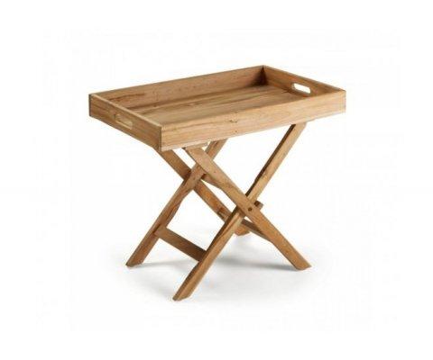 Table d'extérieur pliante en bois MAYAL