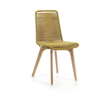 Chaise de jardin en corde NALADA