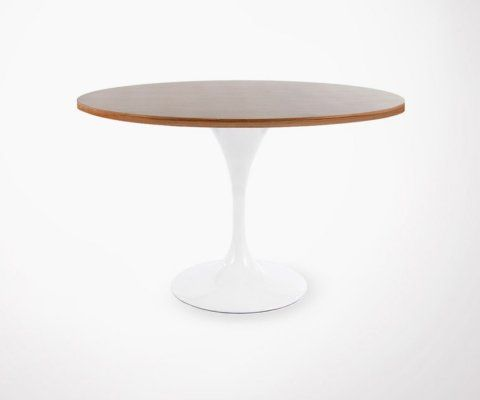 Table FLOWER noyer - 120cm