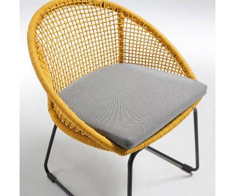 Chaise de jardin design en corde DIMI