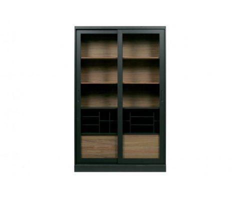 Grande vitrine bois 200cm LAFFERTY