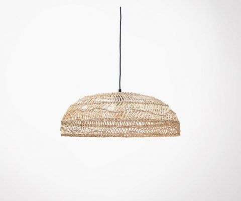 Suspension bois osier naturel 60cm TANAKA - HK Living